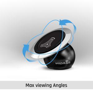 Suport Auto Magnetic pentru Telefon Universal din Metal 360°