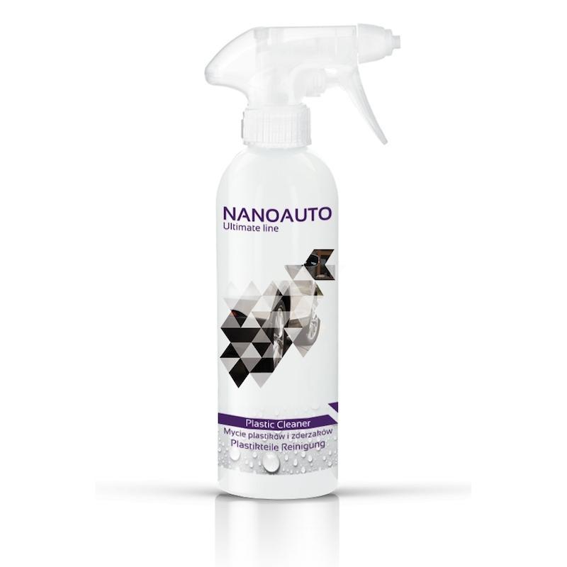 Spray Curatare materiale din Plastic si Cauciuc, NanoAuto