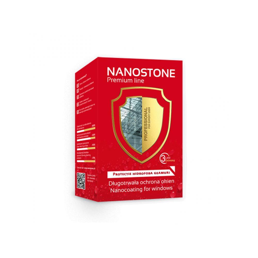 Protectie Nano Hidrofoba Geamuri si Fatade de Sticla, NanoMax