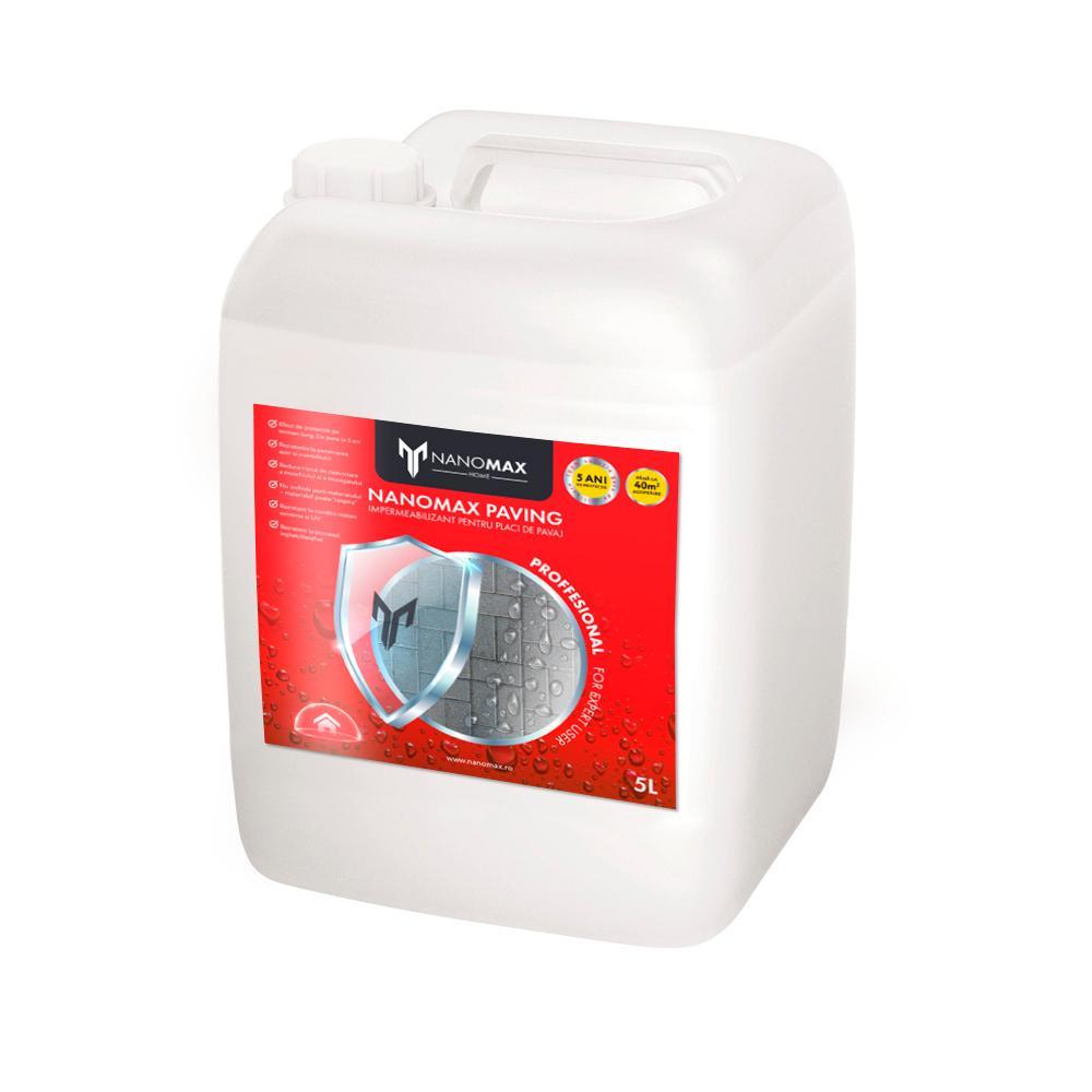 Protectie Placi Pavaj, Efect NATURAL, Impermeabilizant Nano, NanoMax, 5 L