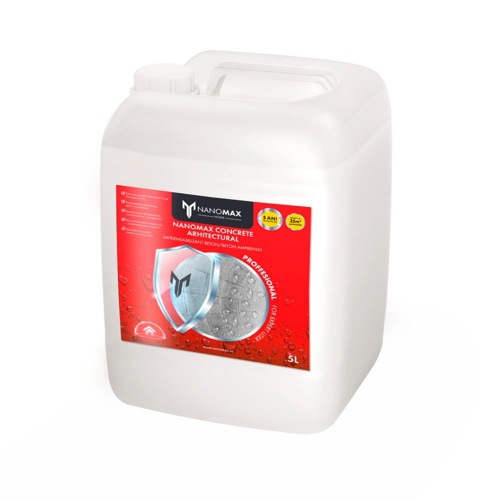 Protectie Nano Beton Amprentat Decorativ, Impermeabilizant Efect Natural, NanoMax, 5 L
